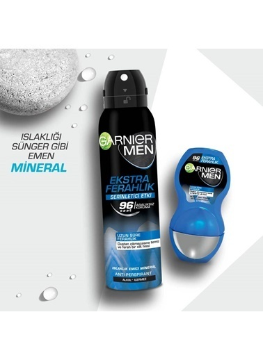Garnier Garnier Men Ekstra Ferahlık Roll On 50 ML Renksiz